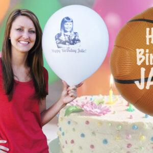 Custom Birthday Balloons - Custom Printed Balloons For Birthday